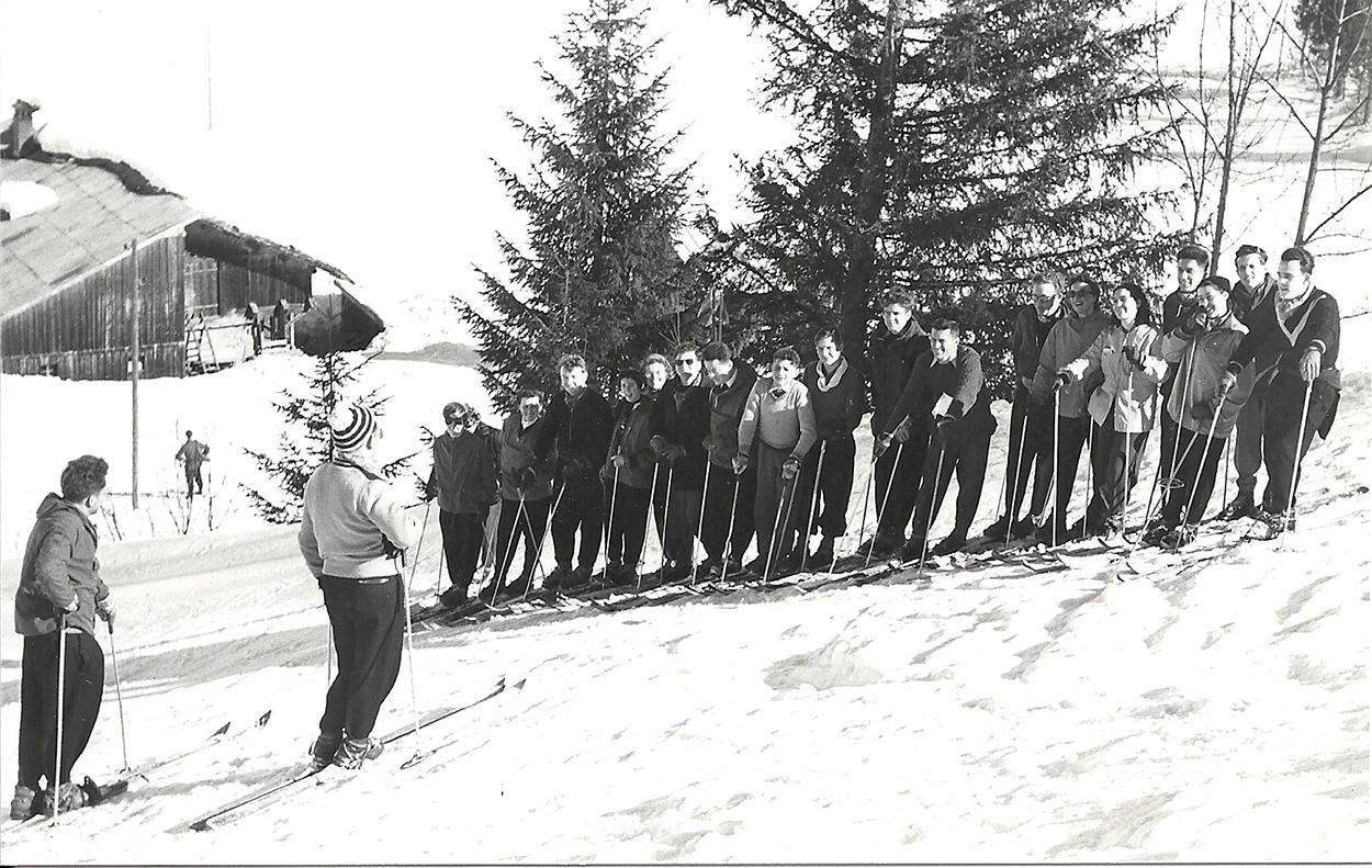 ecole ski1950